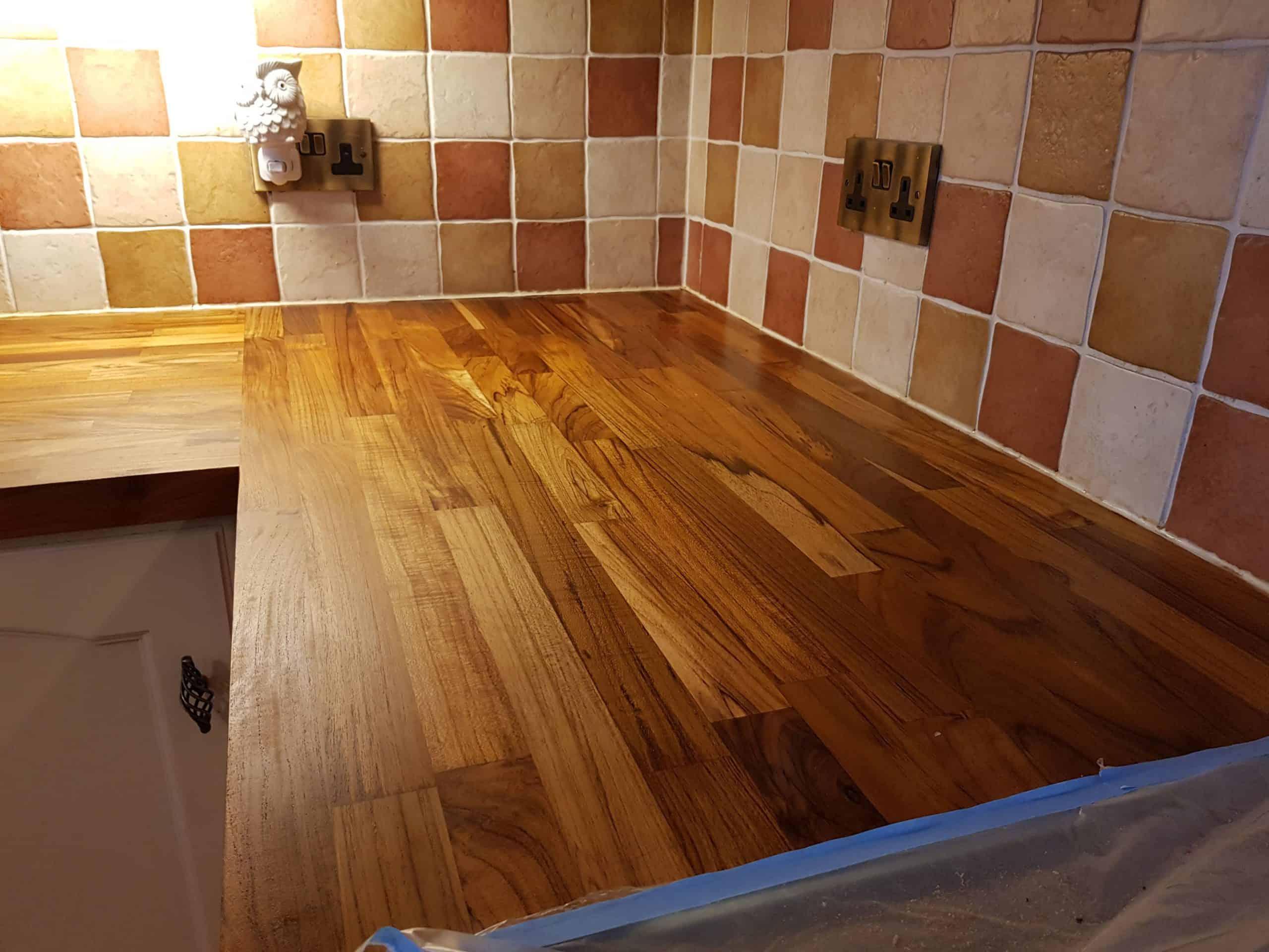 Walnut Worktop Restoration