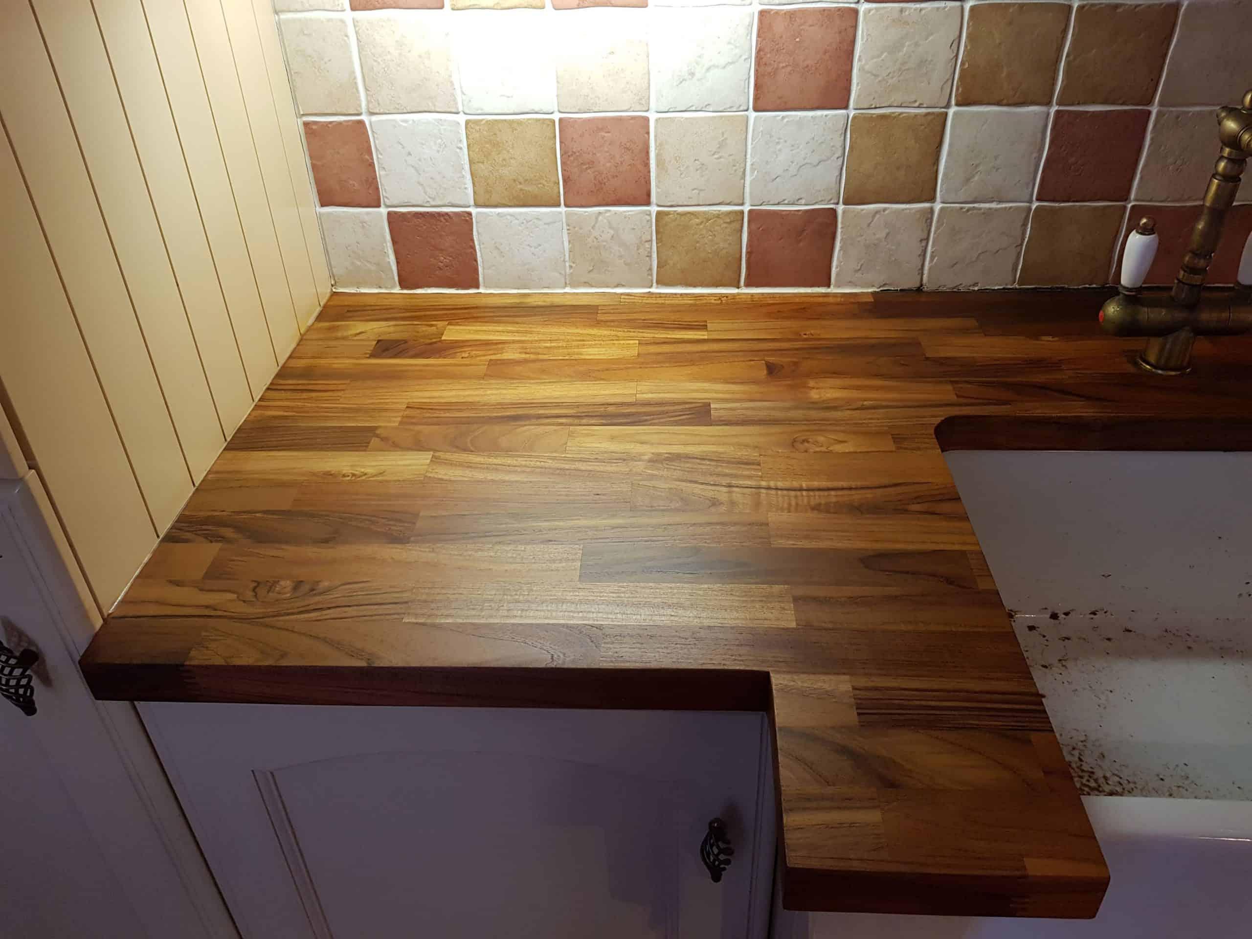 Wooden Worktop Sanded