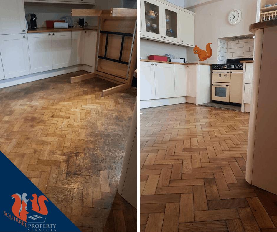 Parquet Wooden Floor Restoration