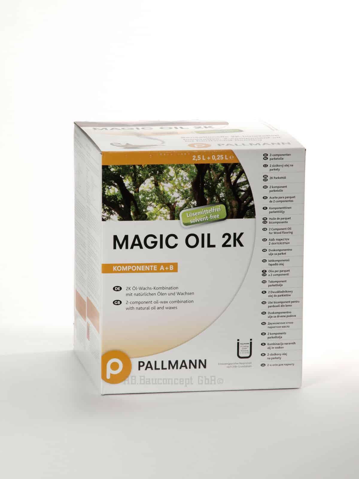 Magic Oil 2K for wooden worktops
