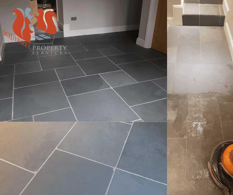 slate floor cleaning cumbria