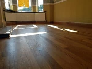 Oak Floor Finished With Magic Oil 2K