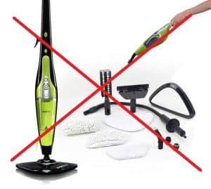 Do Not Use A Steam Mop on Floor TIles