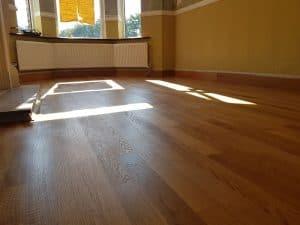 oak floor sanded in Barrow In Furness