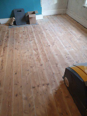 DIY attempt at wood floor sanding Ulverston