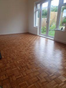 5 finger oak parquet floor restoration in Windermere