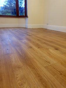 oak floor restoration in cumbria