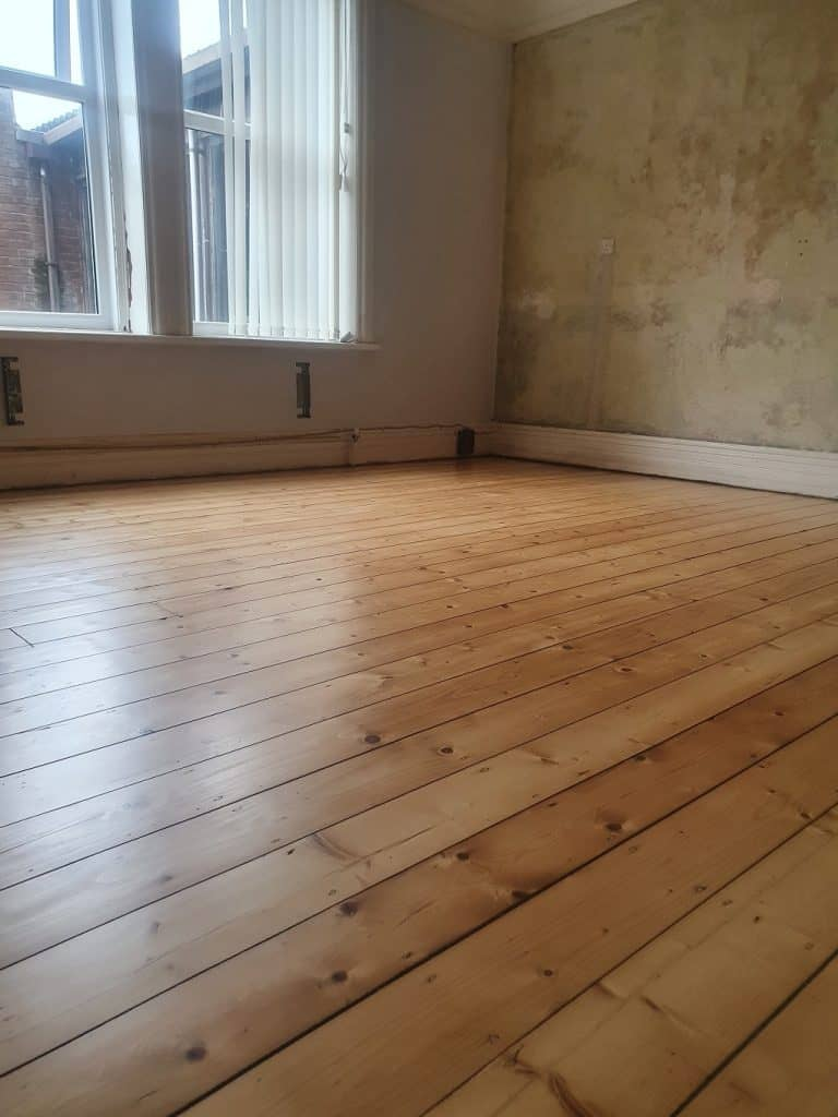 pine floor lacquered barrow in furness