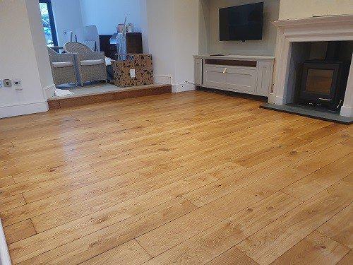 oak flooring sanded in Barrow In Furness