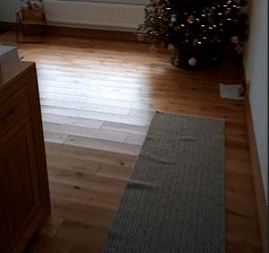 damaged oak wood floor