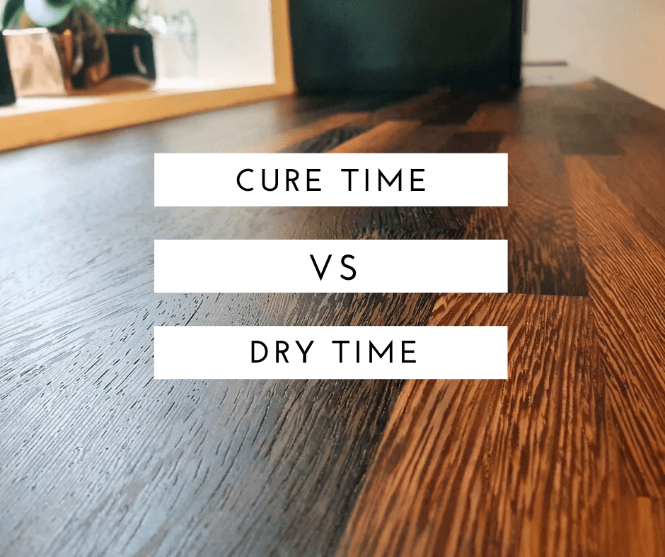 worktop oil. Dry Time Vs Cure Time