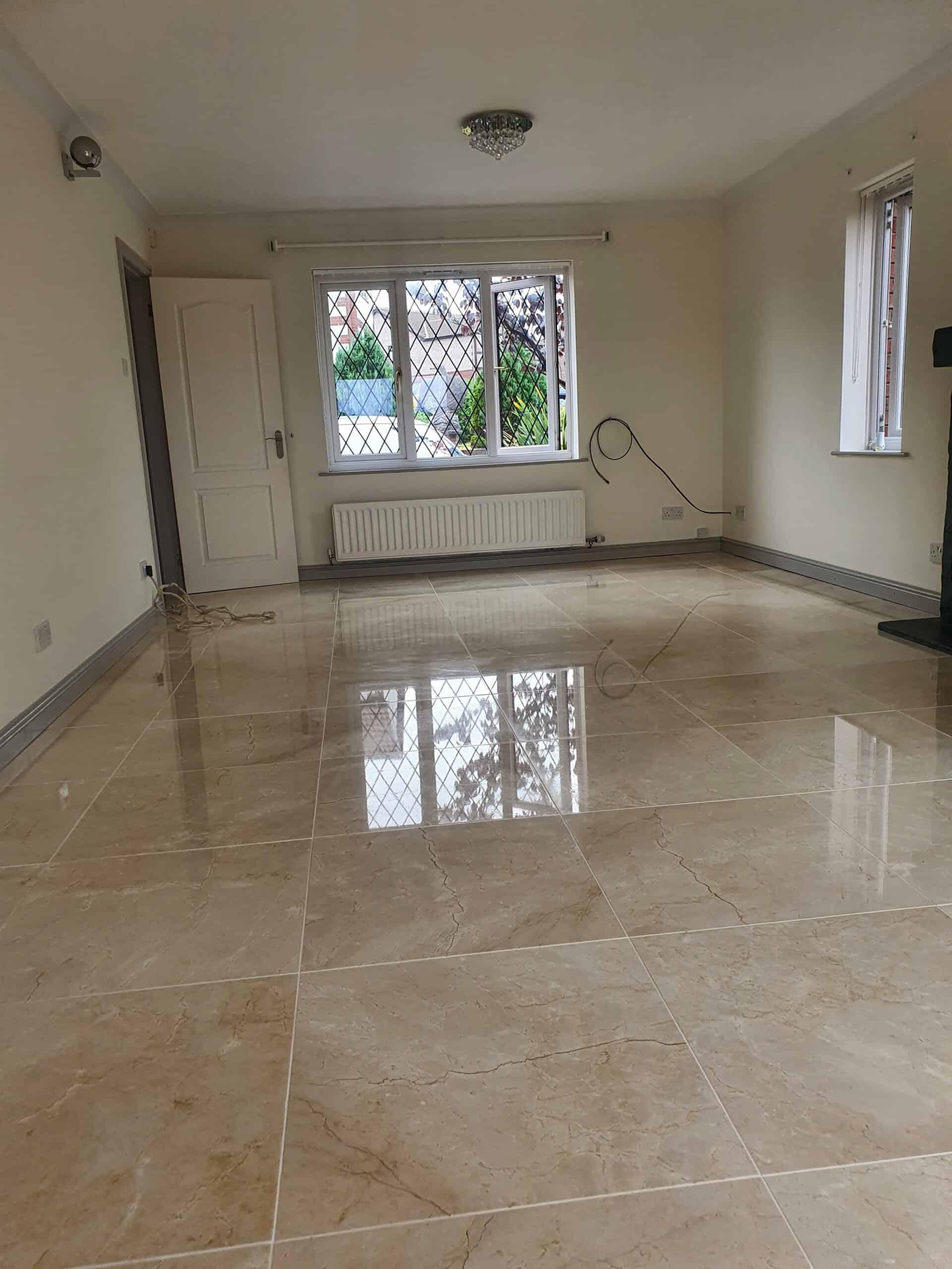 marble floor polishing and restoration